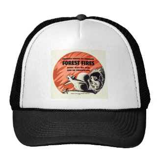 Another Enemy to Conquer Forest Fires Vintage Trucker Hat
