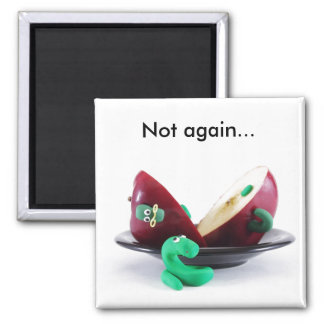 Another Fine Mess, Not again... 2 Inch Square Magnet