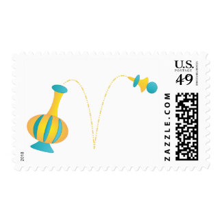 Another Genie Bottle Design! Postage Stamps