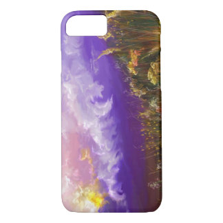Another Good Day Purple Landscape iPhone 7 Case