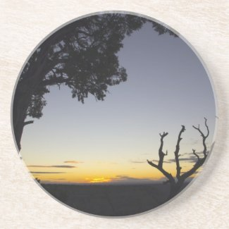 Another Grand Canyon Sunset Beverage Coaster