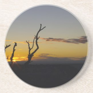 Another Grand Canyon Sunset Drink Coaster