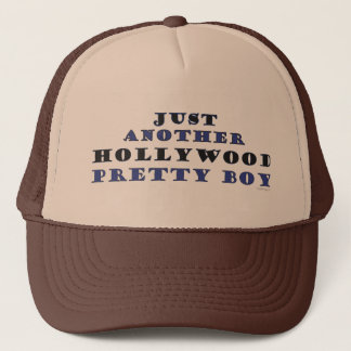 Another Hollywood Pretty Boy Trucker Hat (Brown)