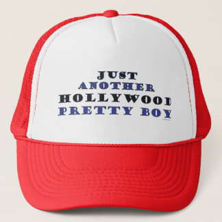 Another Hollywood Pretty Boy Trucker Hat (Red)