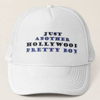 Another Hollywood Pretty Boy Trucker Hat (White)