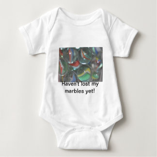 Another I lost my marbles Baby Bodysuit
