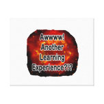 another learning experience nova canvas print