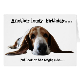 Another Lousy Birthday Card