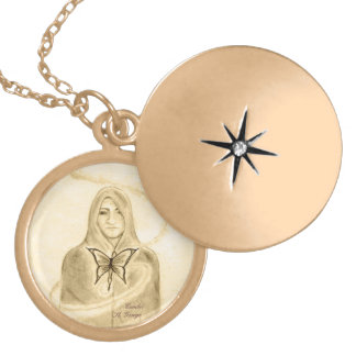 Another Love, Another Time Locket Necklace