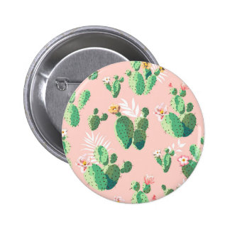 Another Lovely Cactus Flowers Button