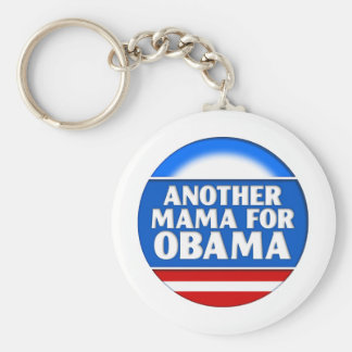 Another Mama for Obama Basic Round Button Keychain