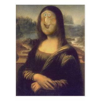 Another Mona Lisa Postcard