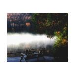 Another Morning at The Lake Canvas Print