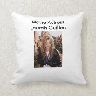 Another Movie Actress Laurah Guillen Design Throw Pillow