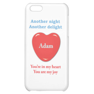 Another night another delight Adam w o racecars Cover For iPhone 5C