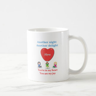Another night another delight - Alysa Coffee Mug