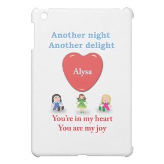 Another night another delight - Alysa iPad Mini Covers