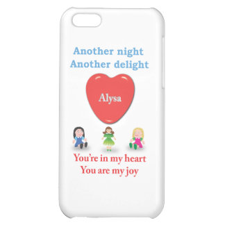 Another night another delight - Alysa iPhone 5C Cases