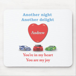 Another night another delight - Andrerw Mouse Pad