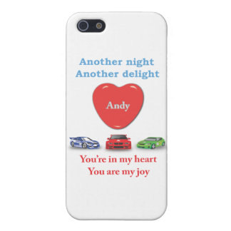 Another night another delight Andy w racecars Case For iPhone 5