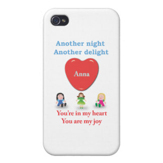 Another night another delight Anna w dolls Covers For iPhone 4