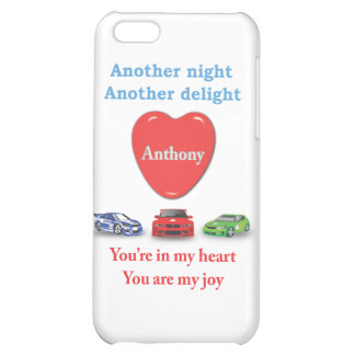 Another night another delight Anthony w racecars iPhone 5C Cases