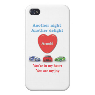 Another night another delight Arnold ai Cover For iPhone 4