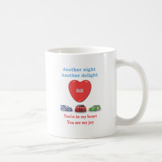 Another night another delight Bill.ai Classic White Coffee Mug