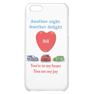 Another night another delight Bill w racecars iPhone 5C Cases