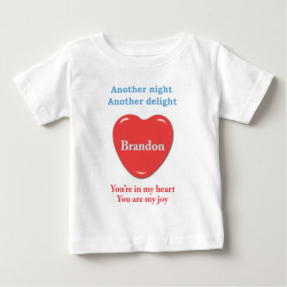 Another night another delight Brandon w o racecars T-shirt