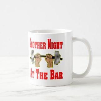 Another Night At The Bar Weightlifting #3 Mug