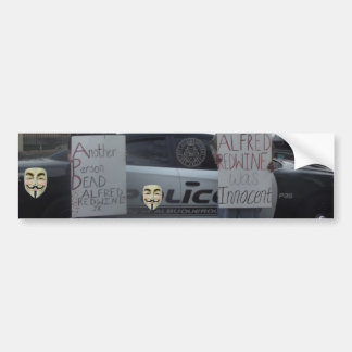 Another Person Dead Bumper Sticker
