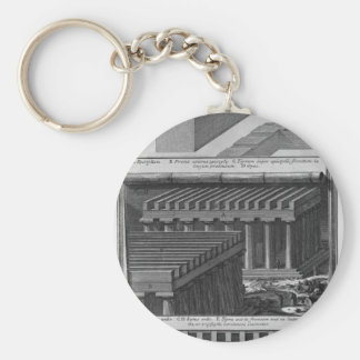 Another perspective view and details of the Doric Keychain