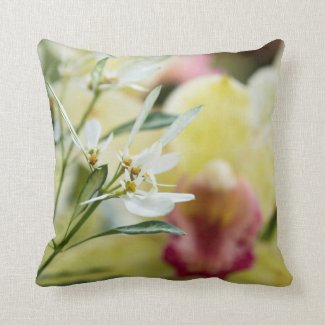 Another pillow with a beautiful Orchid.