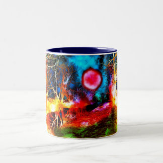 ANOTHER PLANET Two-Tone COFFEE MUG