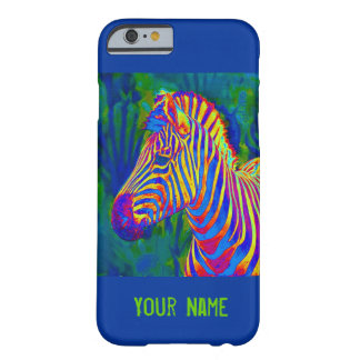 another psychedelic zebra barely there iPhone 6 case