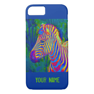 another psychedelic zebra iPhone 7 case