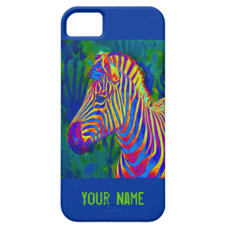 another psychedelic zebra iPhone SE/5/5s case