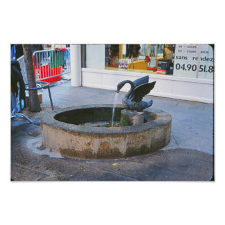 Another Roman Fountain Poster