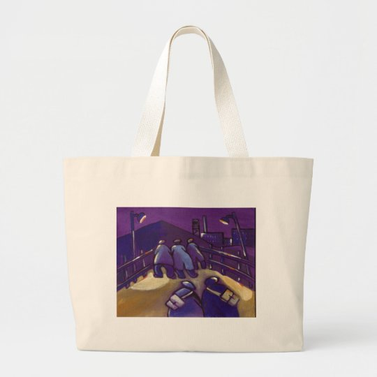 ANOTHER SHIFT LARGE TOTE BAG