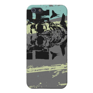 Another Skull on Gray i iPhone SE/5/5s Cover
