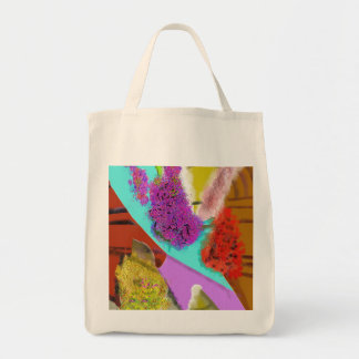 Another Springtime Abstract Design Tote Bag