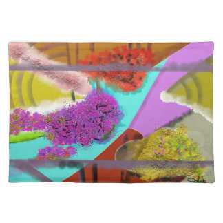 Another Springtime Abstract Placemat