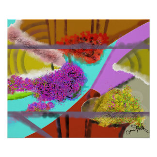 Another Springtime Abstract Poster