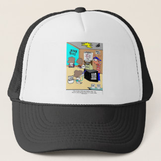 Another Star Criminal Funny Gifts & Tees Trucker Hat
