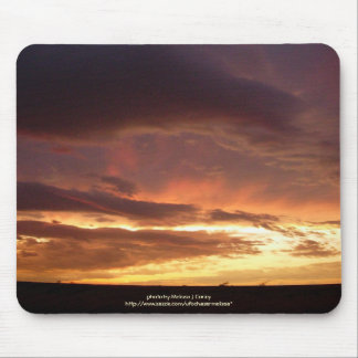 Another Stormy Sunset in Early Fall Mouse Pad
