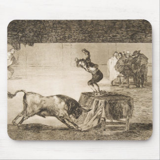 Another Stunt by Martincho in the Same Ring Goya Mouse Pad
