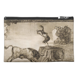 Another Stunt by Martincho in the Same Ring Goya Travel Accessory Bag