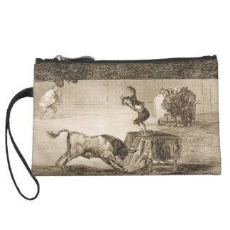 Another Stunt by Martincho in the Same Ring Goya Wristlet