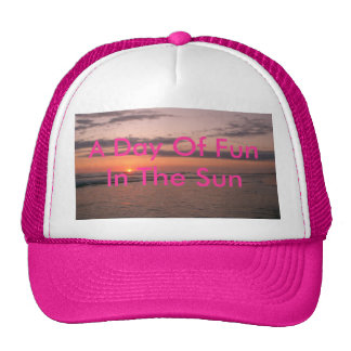 Another sunny day is over trucker hat